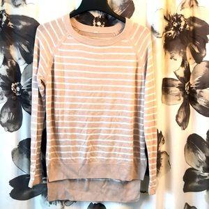 GUC Lululemon striped sweater
